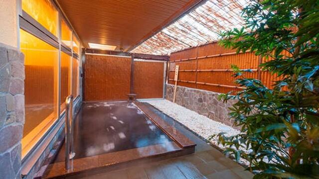 ビジネスホテル五井温泉の露天風呂