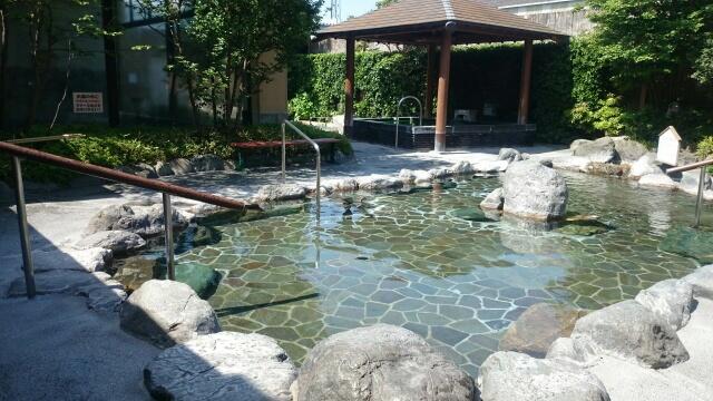 湯の郷かずさの露天風呂